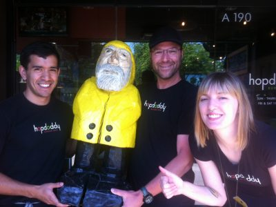 Captain Ahab of Ahab's Adventures at Hopdoddy Burger Bar in Austin Texas 2013