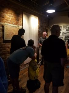 Captain Ahab of Ahab's Adventures going back to his roots at Buffalo Trace Distillery in Frankfort Kentucky 2017