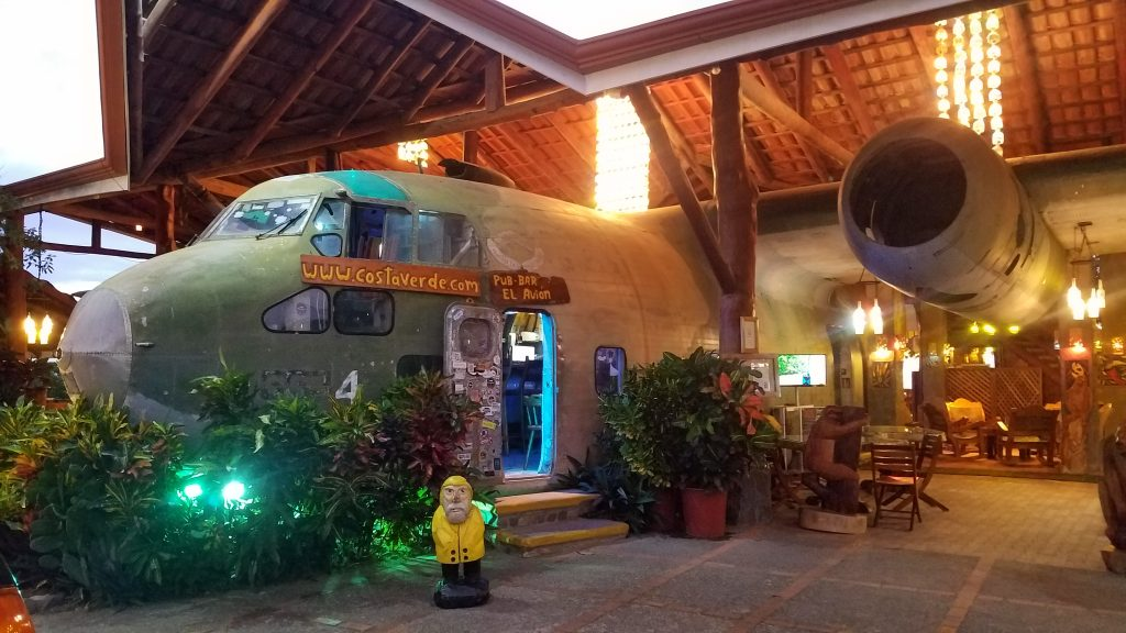 Captain Ahab of Ahab's Adventures enjoying Hotel Costa Verde in Manuel Antonio Costa Rica 2018