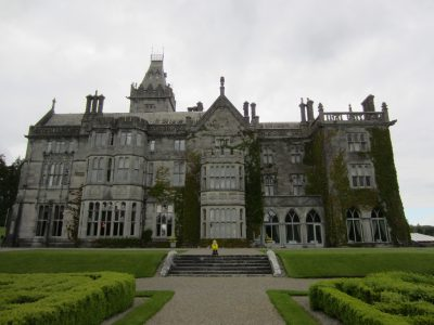 Captain Ahab of Ahab's Adventures at Adare Manor in Ireland 2014