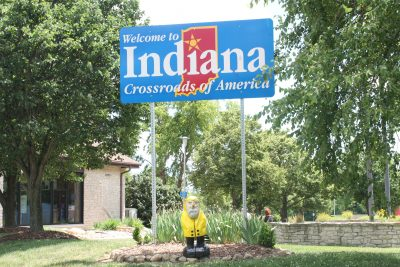 Captain Ahab of Ahab's Adventures entering Indiana 2011