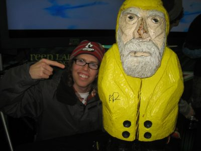 Captain Ahab of Ahab's Adventures at the Dew Tour in Killington Vermont 2011
